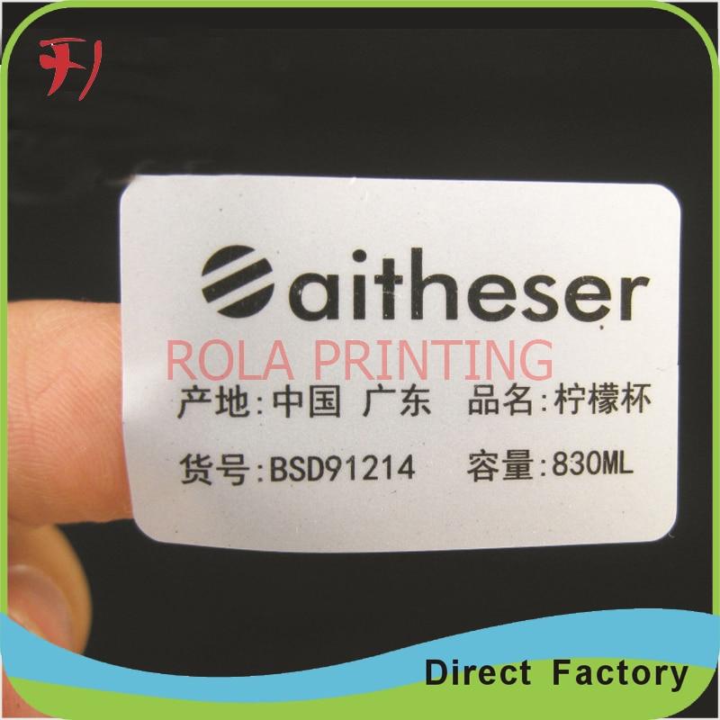 customized custom shipping mark printing shipping label for cartons