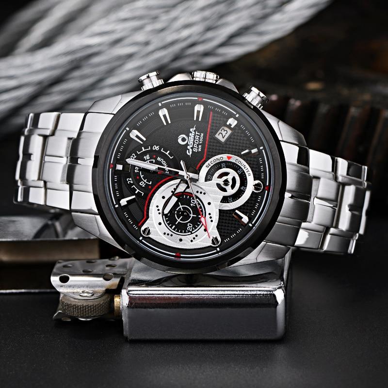 CASIMA zegarki męskie sportowe męskie zegarki. Wielofunkcyjny - Męskie zegarki - Zdjęcie 2