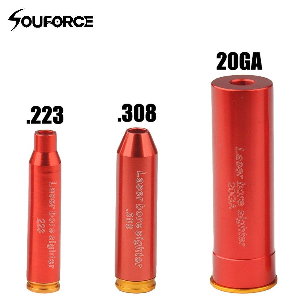US Red Laser CAL 20GA Cartridge 20 Gauge Bore Sighter Boresighter Batter
