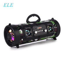 ELE ELEOPTION Bluetooth Di Động Cột Không Dây Loa Nghe Nhạc Stereo Loa Siêu Trầm Loa Di Chuyển KTV 3D Âm Thanh FM Radio