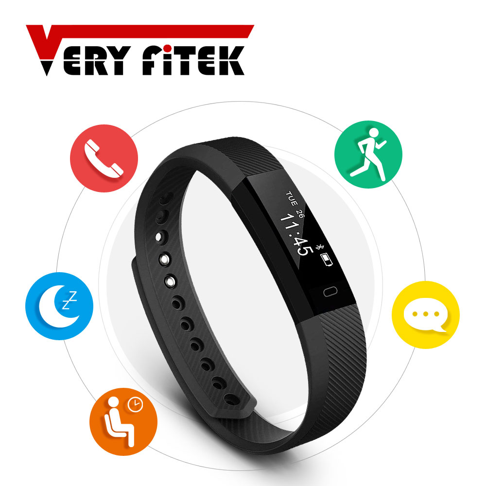 TK47 Smart Bracelet Fitness Tracker Bluetooth 4 0 Sleep Monitor S Band Sport Wristband for font