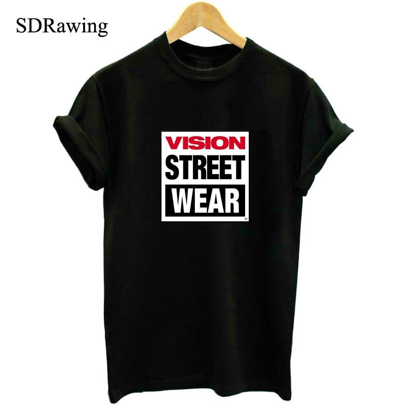 VISION STREET ללבוש חולצת טריקו לגברים נשים - בגדי גברים