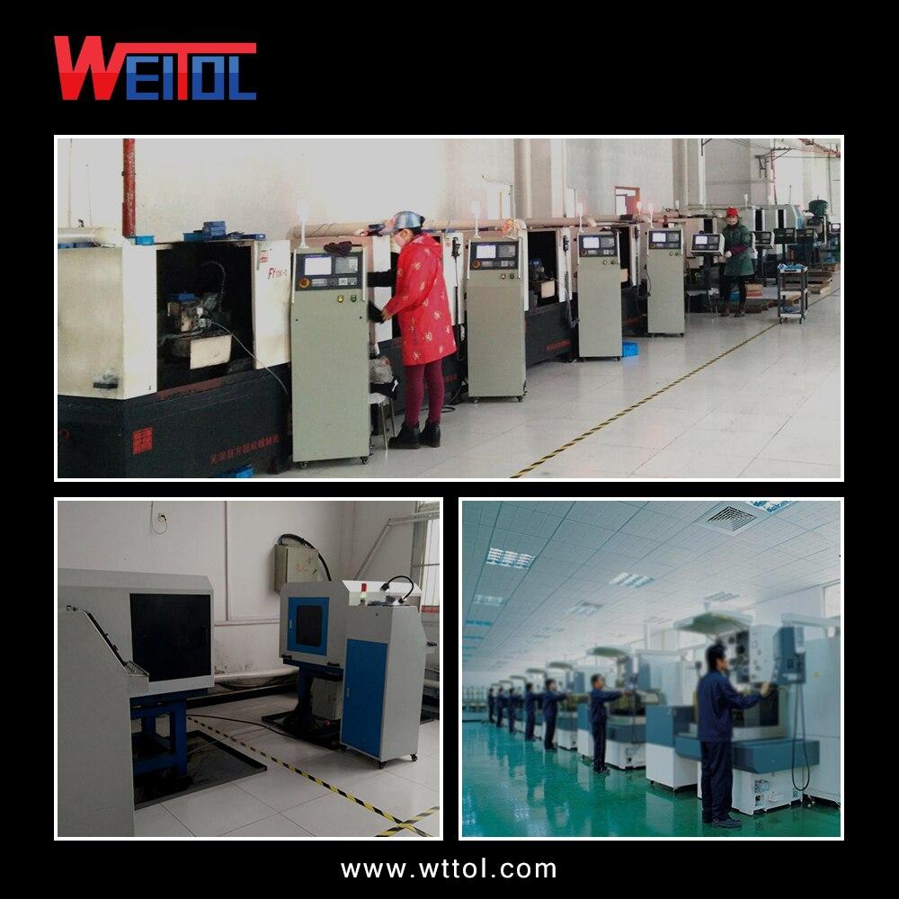 Купить с кэшбэком Weitol free shipping N 1 pcs 6 mm Single Flute Bit Carbide End Mill Set, CNC Router End Mills for Acrylic cutting bit