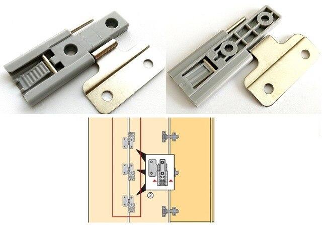 2 шт./лот раздвижные двери петли шкаф двери
