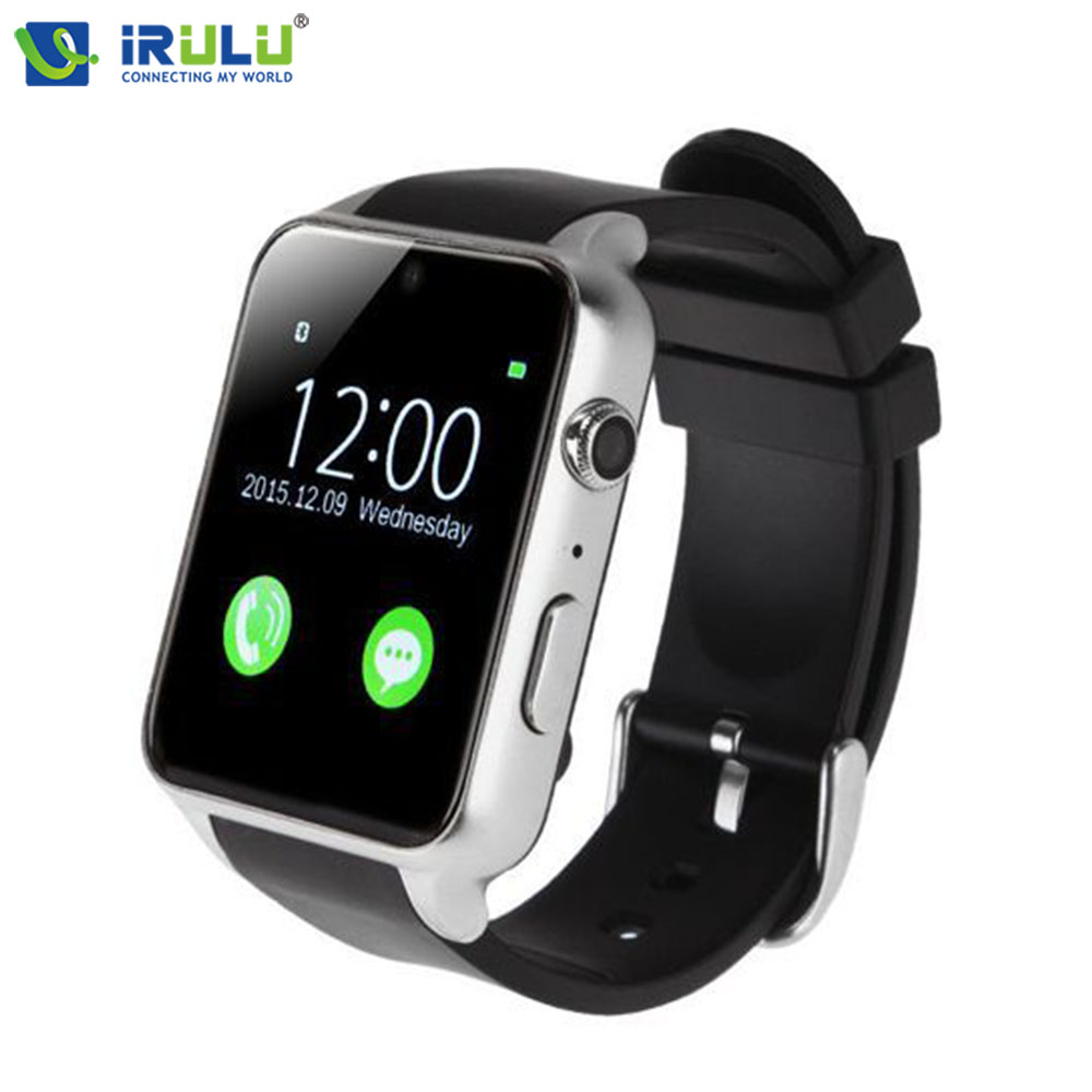 Hot iRULU Smartwatch Heart Rate Tracker Sport Smart Watch Fitness Tracker Waterproof Bluetooth For IOS Android Phone leegoal bluetooth smart watch heart rate monitor reminder passometer sleep fitness tracker wrist smartwatch for ios android