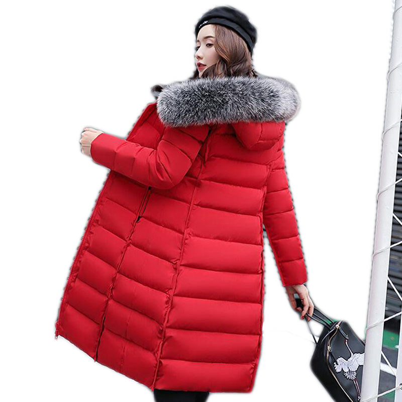 Manteau Parka army Long La A055 D'hiver 2018 Qualité Plus Haute Nouveau Veste Tang Red Coton Armée Green jiao Femme Femmes Design Taille Vert Blue balck Épais tie white dark grey Xiu De fadwPqEPnT