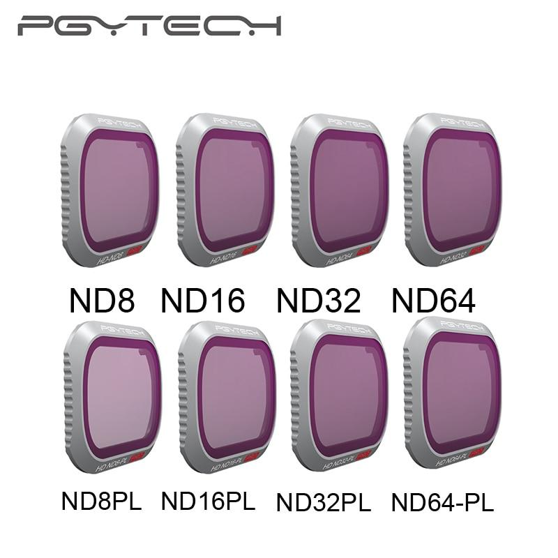 PGYTECH Mavic 2 Pro Camera Lens Filter ND8/16/32/64 Filters ND8/16/32/64-PL Filter for DJI Mavic 2 Pro drone Accessories цена