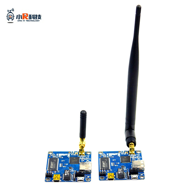 Xiao R Robot Wifi Module Video Transmission Network Port To Serial Port AR9331OpenwrtXRbot Link4.0 5dBi/2dBi Long/Short Antenna fc228 ch rs232 230mhz 25w narrowband wireless serial port transmission module 25km genuine