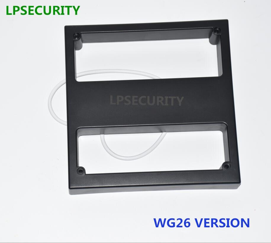 LPSECURITY 60 cm à 100 cm 125 KHZ Longue Portée RFID RS232 peu milieu de gamme Lecteur Antenne pour Voiture parking de Contrôle D'accès