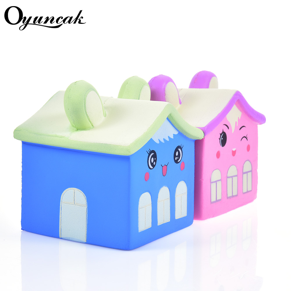 Oyuncak Squishe House Novelty Gag Toys Antistress Fun Relief Rising Squishy Slow Stress Toy Practical Jokes Toys Gadget Gag fulljion squishy alpaca slow rising antistress squishe toys jumbo fun gadget squisy stress relief toy girls gags practical jokes