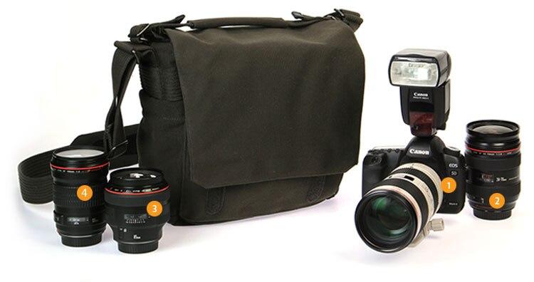 dslr câmera foto sling bolsa de ombro
