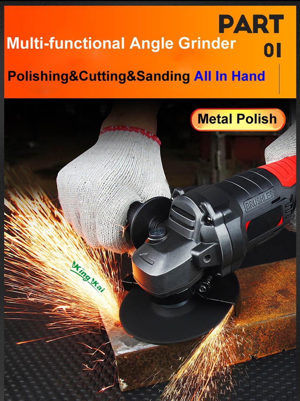 Brushless Cordless Battery Sand Polish Cut Angle Grinder-01 (4)