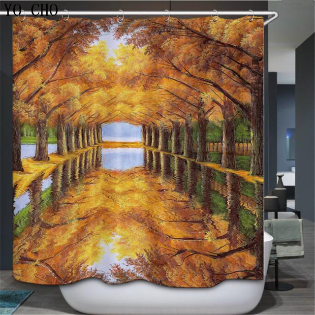 Online Shop YO CHO House scenery country field style 3d douche ...