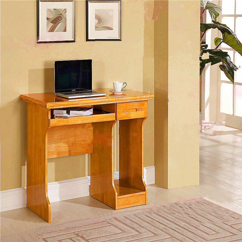 Simple Small Wood Desktop Computer Desk Home For Children To Learn 90c Oak With Drawers Table In Desks From Furniture On Aliexpress