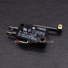 10Pcs/lot Microswitch Long Lever AC 250V 15A V-156-1C25 SPDT Roller Lever Micro Switch