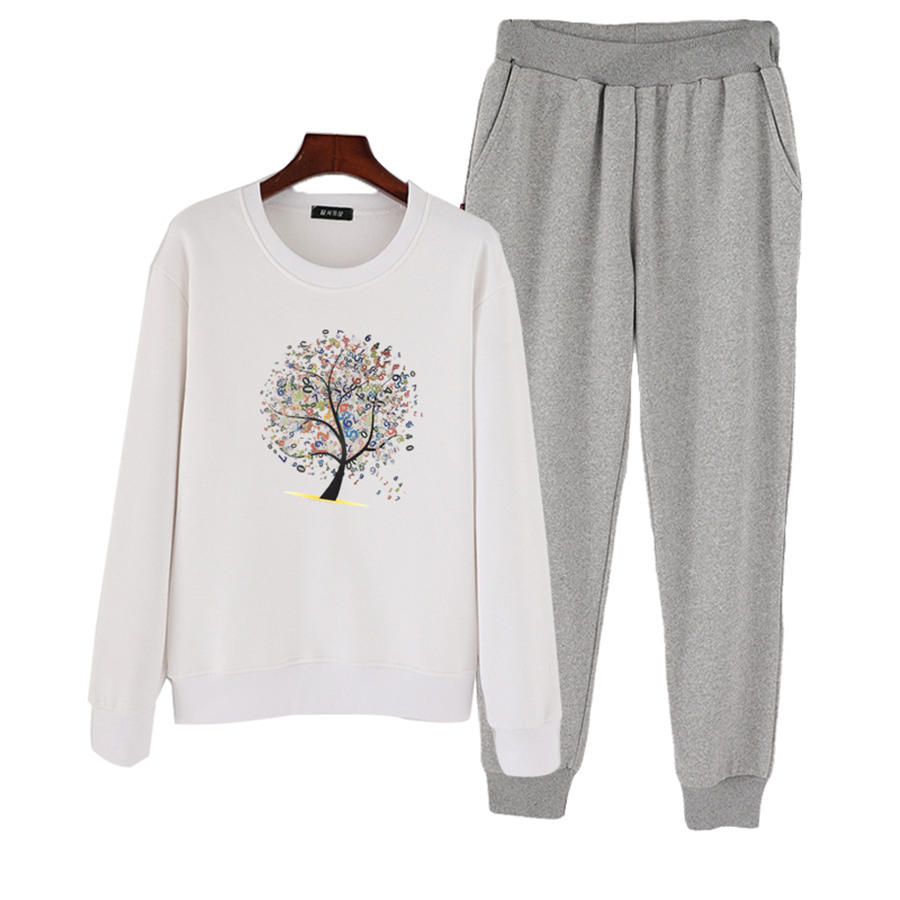 13-20T Brand teenage girls Clothing Children Autumn Girls Clothes Cartoon Kids girl Clothing Set T-shit+Pants Cotton outfit FZ34