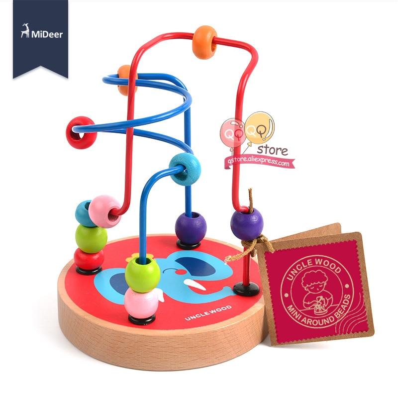 Mideer Draht Bead Maze Puzzle Spiel Holz Montessori Pädagogisches ...