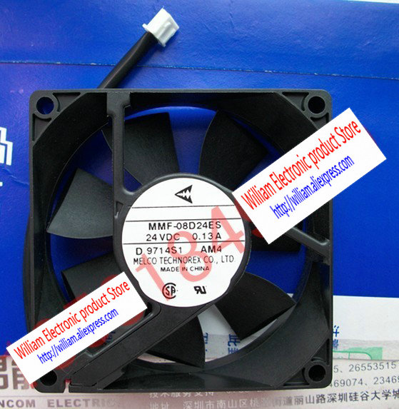 New Original Nidec Inverter fan for Yaskawa MMF-08D24ES AM4 24V 0.13A 80*80*25MM yaskawa hw0470360 a yaskawa yasukawa motoman industrial robots dedicated battery