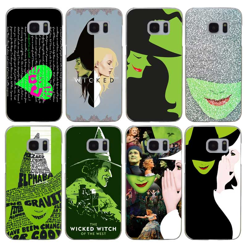 H054 Broadway Musical Wicked Transparent Harte PC Fall Abdeckung Für <font><b>Samsung</b></font> Galaxy <font><b>S</b></font> Hinweis 3 4 5 6 <font><b>7</b></font> 8 9 rand Plus image