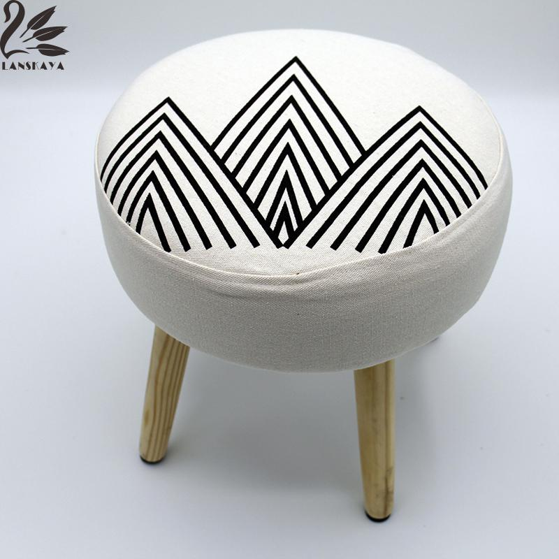 lanskaya montain simple literario taburete de madera para bar comedor de estilo moderno minimalista sala de