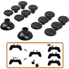 สำหรับSony PS4 SLIM PS4 Pro Controllerความยืดหยุ่นที่กำหนดเองEnhancedที่ถอดออกได้Thumbsticks Thumb Stickจอยสติ๊กCapsครอบคลุมGrips
