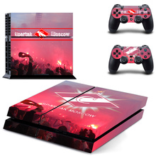 Spartak Moscow PS4 Skin with controllers