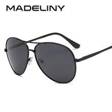 MADELINY Classics Men Sunglasses Pilot Polarized Male Sun Glasses Brand Designer Eyeglasses gafas oculos de sol masculino MA112 все цены