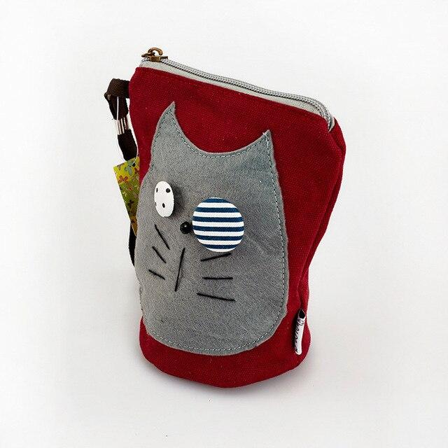 2016 Promotion Polyester Unisex Dress Animal Prints Zipper New Original Cartoon Short Wallet Purse Bag Mini Korean Female