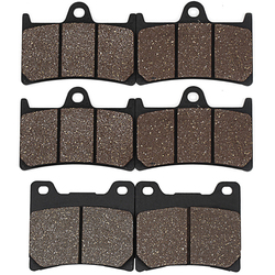 Cyleto Motorcycle Front Rear Brake Pads for YAMAHA YZF600 YZF600R ThunderCat 1996-2007 YZF1000R YZF 1000 R Thunderace 1997