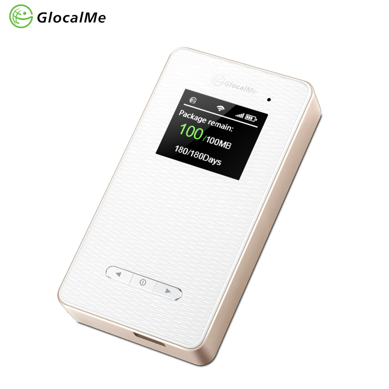 GlocalMe Global Mobile Hotspot Unlocked Free roaming Travel