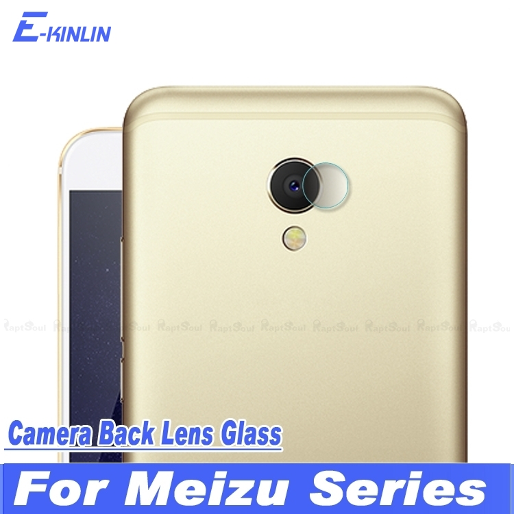 Back Camera Lens Protective Tempered Glass Protector Film For MeiZu Pro5 Pro 5 MX6 MX5e MX5 Charm Blue M1 M2 Note Metal
