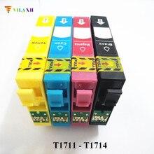 T1711 Ink Cartridge For Epson - T1714 Stylus XP33 XP103 XP203 XP207 XP-103 XP-203 XP-207 XP-313 XP-413 XP 103 313