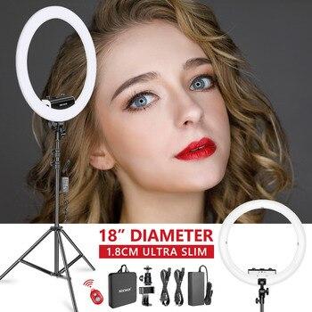 Neewer Ring Light Kit สำหรับภาพแต่งหน้าการถ่ายภาพวิดีโอ
