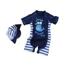 Kids Boys Swimsuit Children Two Piece Toddler Swimwear New Summer Cartoon Beach Swim Suit for Swimming