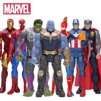Hasbro Marvel ของเล่น Avenger Endgame 30 ซม. Super Hero Thor กัปตัน Thanos Wolverine Spider Man Iron Man Action Figure ตุ๊กตาตุ๊กตาของเล่นตุ๊กตา