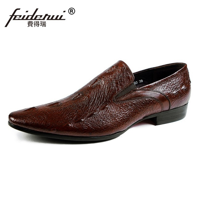 Homme Moccasin Respirant Chaussures Mocassins Designer Hommes Chaussures en cuir Homme en cuir véritable mode Chaussures elMSY