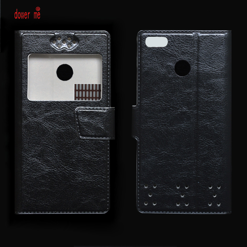 dower me New Flip PU Leather Case Cover For Sharp A2 Lite Smartphone