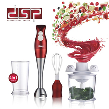 DSP Multifunctional Electric Stick Blender mixer Hand Blender Egg Whisk Mixer Juicer Meat Grinder Food Processor KM1004