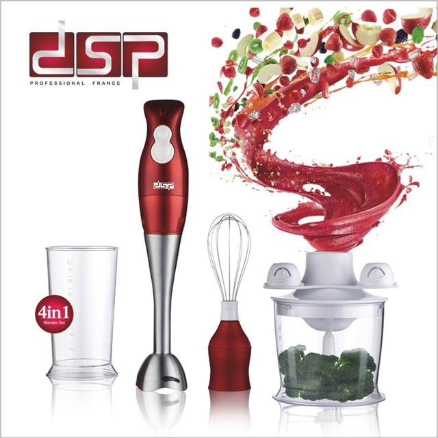 dsp multifunctional electric stick blender mixer hand blender egg whisk mixer juicer meat grinder food processor