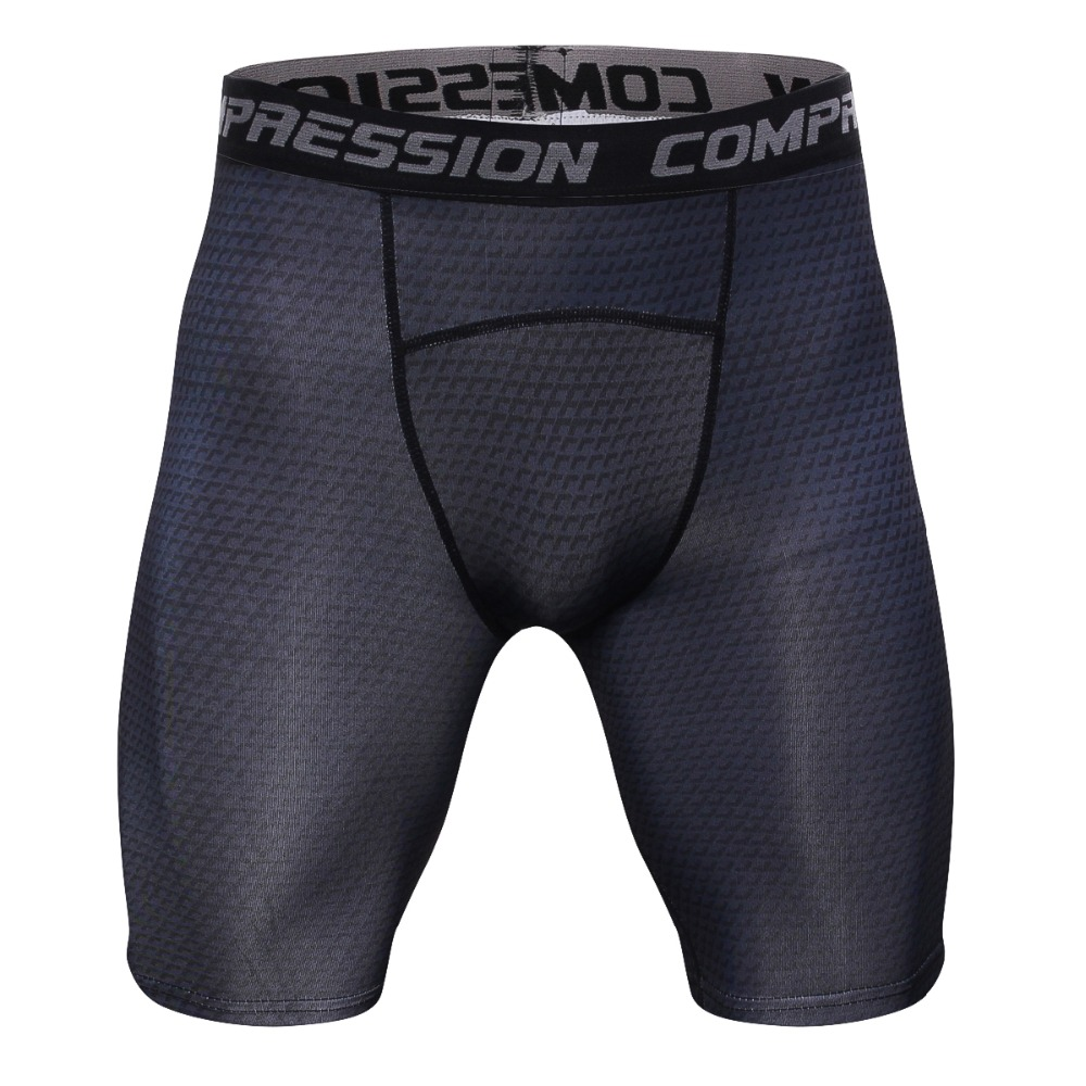 2018 Tight   Short   Pants Pants Exercise Breathable For Man Quick Drying Compression   Shorts   Bodybuilding