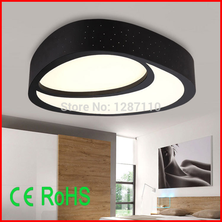 Modern creative LED ceiling lamp light 28W/36W flush mount ceiling lights for bedroom kitchen iron+acrylic LED ceiling lamp vemma acrylic minimalist modern led ceiling lamps kitchen bathroom bedroom balcony corridor lamp lighting study