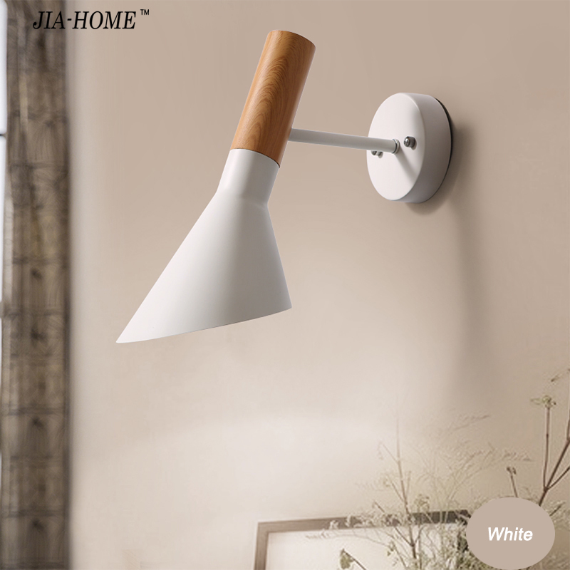 Modern Style Metal Wall Lamp white and black color Bedside Lamps Wall Light for  Home Lighting Decoration Sconce Light modern lamp trophy wall lamp wall lamp bed lighting bedside wall lamp