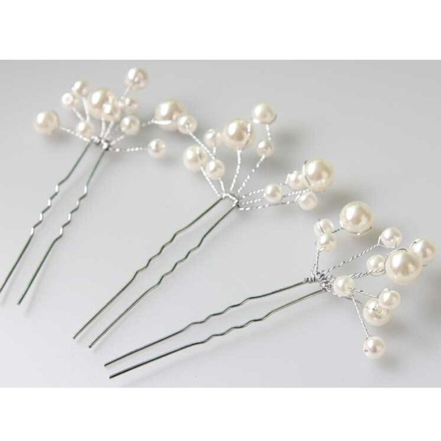 6 Pieces Women Wedding Bridal Bridesmaid Hair Accessories