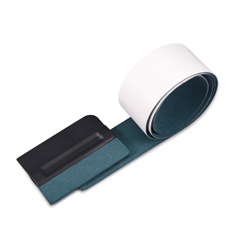 FOSHIO Pró-Bondo tint Scraper Rodo com 100 cm Nenhum Risco Camurça Sentiu Acessórios Do Carro Vinil Matiz Da Janela Do Carro adesivos Embrulhar Ferramenta
