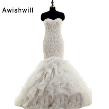 Awishwill Bridal Gowns Sweetheart Neck Wedding Dresses