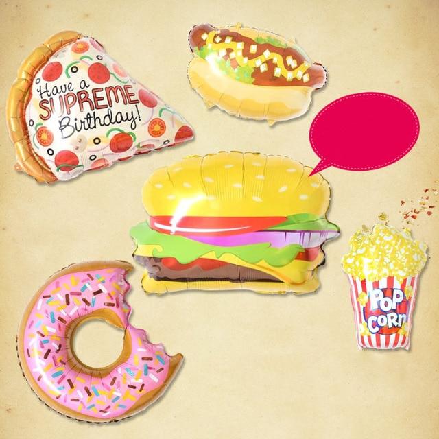 Aliexpress.com : Buy 1pcs Donuts Cream Hamburger Hot Dog Inflatable ...