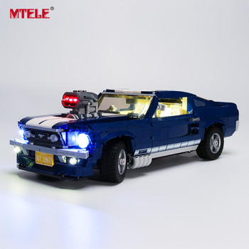 MTELE Brand LED Light Up Kit Toy For 10265 Ford Mustang Lighting Set Compatile With 21047 (Model NOT Included) image