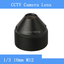 Factory direct surveillance infrared camera pinhole lens 10mm M12 thread CCTV lens