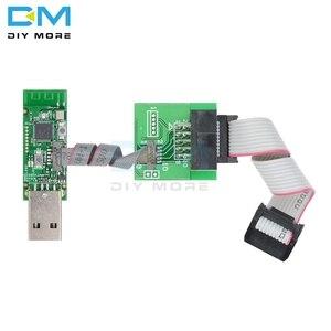 Image 3 - CC Debugger CC2531 Zigbee CC2540 Sniffer bezprzewodowy Bluetooth 4.0 Dongle Capture Board programator USB moduł Downloader Cable