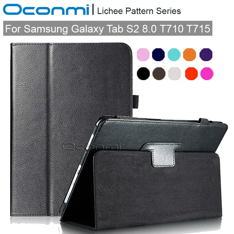 Folio Premium stand case for Samsung Galaxy Tab S2 8.0 T710 T715 slim smart cover for Samsung Tab S2 8.0 inch SM-T710 SM-T715 new x line soft clear tpu case gel back cover for samsung galaxy tab s2 s 2 ii sii 8 0 tablet case t715 t710 t715c silicon case